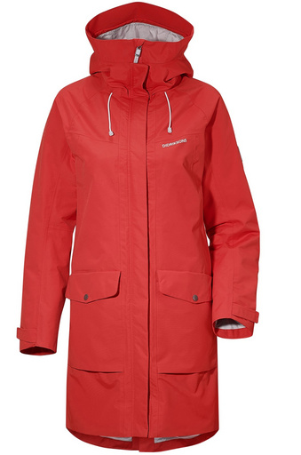 KATY WNS PARKA Chili Red