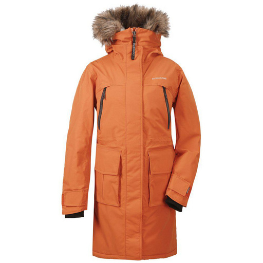 Ž. jakna LEONA WNS PARKA Burnt Orange