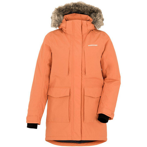 JAMILA GIRLS PARKA 2 Burnt Orange