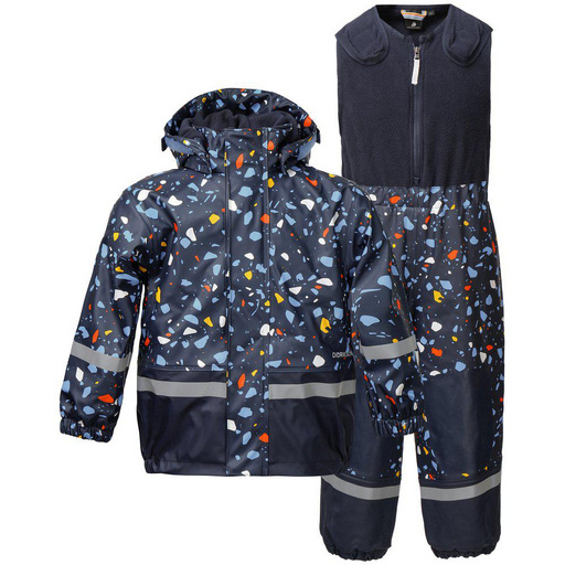 Otr. set - jakna in hlače BOARDMAN PR KIDS SET Navy Terazzo